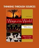 Thinking Through Sources for Ways of the World, Volume 2 3rd Edition