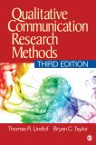 Qualitative Communication Research Methods 3rd Edition