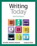 Writing Today, Brief Edition 3rd Edition