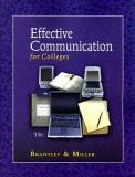 Effective Communication for Colleges 11th Edition