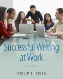 Successful Writing at Work 9781111834791