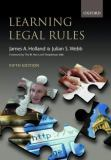 Learning Legal Rules 9780199254828