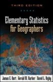 Elementary Statistics for Geographers, Third Edition 9781572304840