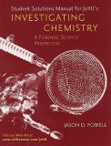 Invetigating Chemistry Solutions Manual 9780716774860