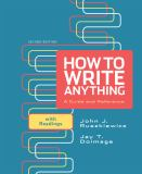 How to Write Anything 9780312674892