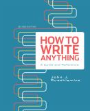 How to Write Anything 9780312674908