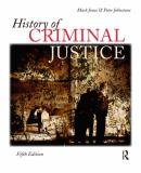 History of Criminal Justice 5th Edition