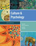 Culture and Psychology 5th Edition