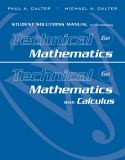 Technical Mathematics with Calculus 6th Edition