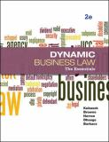 Dynamic Business Law 2nd Edition