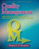 Quality Management 2nd Edition