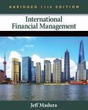 International Financial Management, Abridged Edition 11th Edition