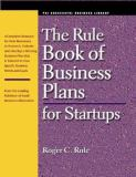 Rule Book of Business Plans for Startups 9781555715199