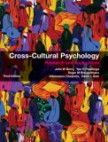 Cross-Cultural Psychology 3rd Edition