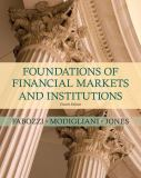 Foundations of Financial Markets and Institutions 4th Edition