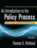 An Introduction to the Policy Process 3rd Edition