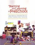 Teaching and Learning in Preschool 9780872075351