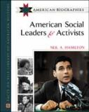American Social Leaders and Activists 9780816045358