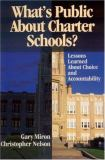 What's Public about Charter Schools? 9780761945383