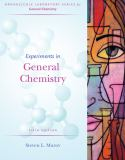 Experiments in General Chemistry 9780495125389