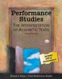 Performance Studies 9780757545405
