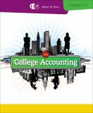 College Accounting, Chapters 1-27 21st Edition