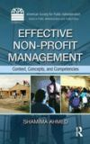 Effective Non-Profit Management