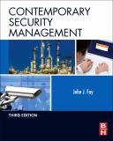 Contemporary Security Management 3rd Edition