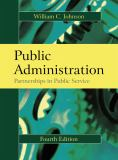 Public Administration 4th Edition