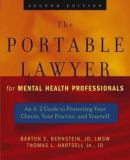 The Portable Lawyer for Mental Health Professionals 9780471465515