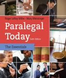 Paralegal Today 6th Edition