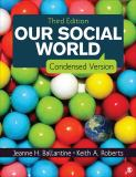 Our Social World 3rd Edition