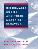 Deformable Bodies and Their Material Behavior 9780471125785