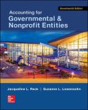 Accounting for Governmental and Nonprofit Entities 17th Edition