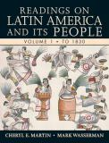 Readings on Latin America and Its People to 1830