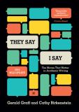They Say / I Say 3rd Edition