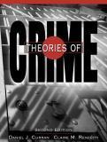 Theories of Crime 9780205275885