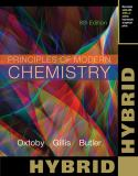 Principles of Modern Chemistry, Hybrid Edition (with OWLv2 Printed Access Card) 8th Edition