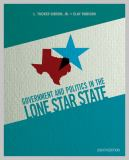 Government and Politics in the Lone Star State 8th Edition