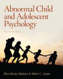 Abnormal Child and Adolescent Psychology 9780205036066