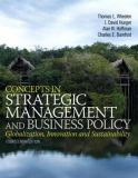Concepts in Strategic Management and Business Policy 14th Edition