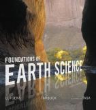 Foundations of Earth Science Plus MasteringGeology with EText -- Access Card Package 8th Edition