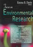 Focus on Environmental Research 9781594546280