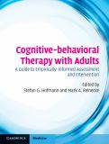 Cognitive-Behavioral Therapy with Adults 9780521896337