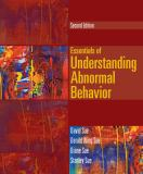 Essentials of Understanding Abnormal Behavior 9781133956358