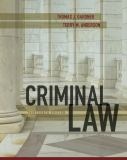 Criminal Law 13th Edition