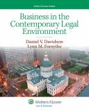 Business in the Contemporary Legal Environment