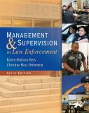 Management and Supervision in Law Enforcement 6th Edition