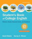 Student's Book of College English, MLA Update Edition 14th Edition