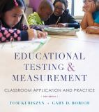 Educational Testing and Measurement 10th Edition